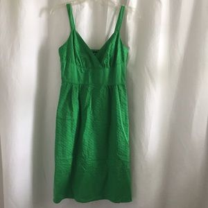Ana Kelly Green Eyelet dress